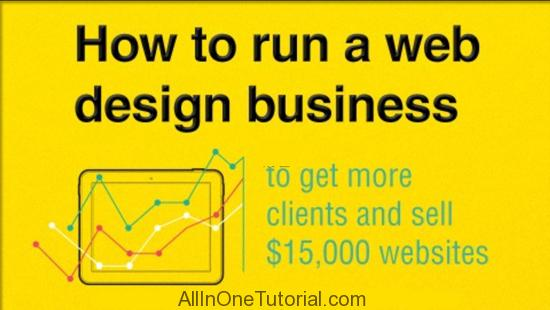 How to run a web design business sell 15 000 websites for How to decorate a house to sell